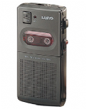 Sanyo 3640 Mini Cassette Dictation Recorder ( TRC3640 ) Refurbished